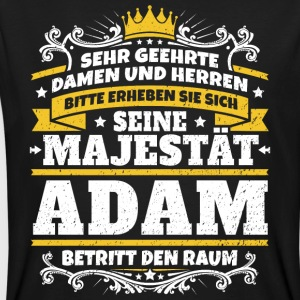 His Majesty Adam - Men's Organic T-shirt