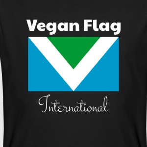 Offizielle Vegan Flag International Flagge Fahne - Männer Bio-T-Shirt