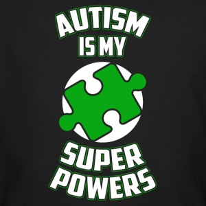 Autism is my superpower funny sayings - Men's Organic T-shirt
