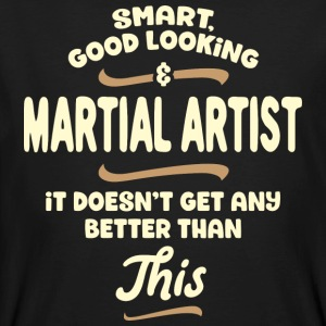 Intelligent, handsome and combat ... - Men's Organic T-shirt