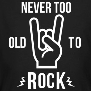 Never too old to rock - Men's Organic T-shirt