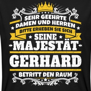 His Majesty Gerhard - Men's Organic T-shirt