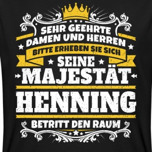 His Majesty Henning - Men's Organic T-shirt