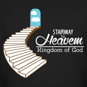 Stairway to Heaven - Kingdom of God - Männer Bio-T-Shirt