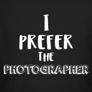 I prefer the photographer - Men's Organic T-shirt