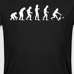 Human EVOLUTION BADMINTON - Men's Organic T-shirt