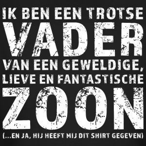 Trotse Vader Zoon - Mannen Bio-T-shirt