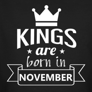 KINGS were born in NOVEMBER - Men's Organic T-shirt