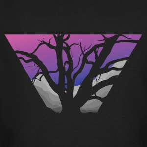 Purple Branches - Men's Organic T-shirt