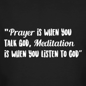 Prayer and Meditation - Men's Organic T-shirt