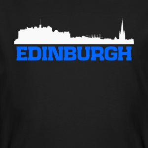 Edinburgh Scotland skyline tee - Men's Organic T-shirt