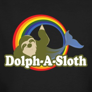 Dolph-A-Sloth Mystique Creature - Men's Organic T-shirt