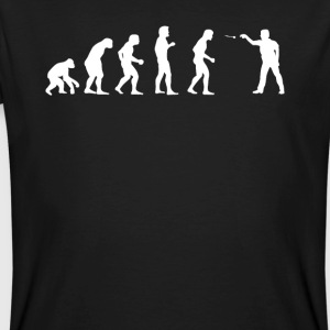Evolution Dart - Männer Bio-T-Shirt