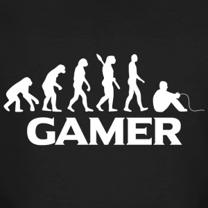 evolution GAMER wt - Männer Bio-T-Shirt