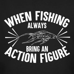 Fishing - Action Figure - Männer Bio-T-Shirt