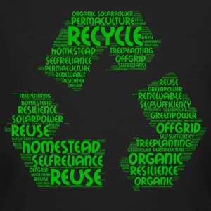 ecological word cloud - Men's Organic T-shirt