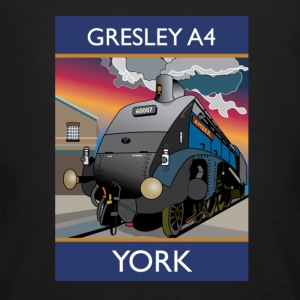 Gresley A4 Train - Men's Organic T-shirt