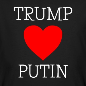 TRUMP LOVES PUTIN - Men's Organic T-shirt
