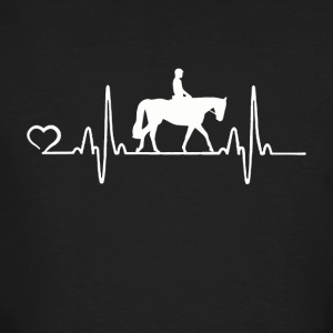 Horse - Heartbeat - Men's Organic T-shirt