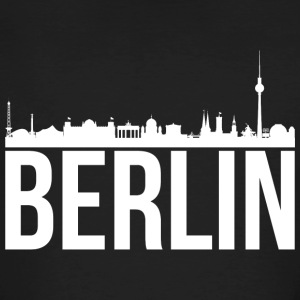 Berlin skyline - Økologisk T-skjorte for menn