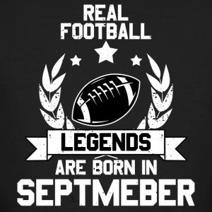 Real Football - American Football! Legend! - Mannen Bio-T-shirt