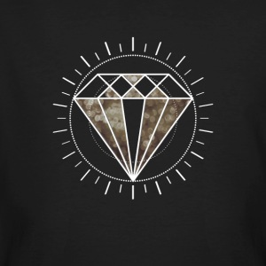 diamanten diamanten Icon Star nobele Gamer Level zon - Mannen Bio-T-shirt