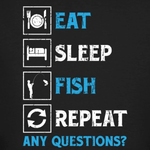 Fishing! Fishing! funny! repeat! - Men's Organic T-shirt