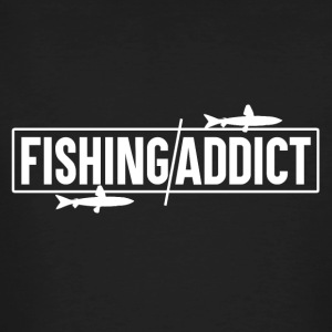 Fishing Addict - Fishing - Men's Organic T-shirt