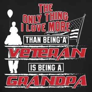 Veteran Grandpa! Veteran grandfather! - Men's Organic T-shirt