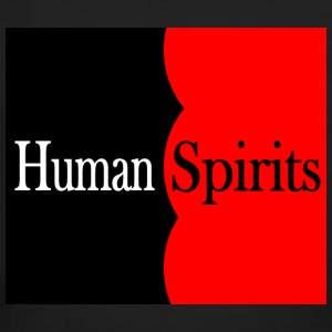 Human Spirits black and red - Men's Organic T-shirt