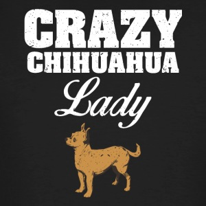 Crazy Chihuahua lady dog ​​lover - Men's Organic T-shirt