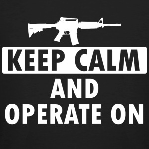 Keep Calm Operate on - Men's Organic T-shirt