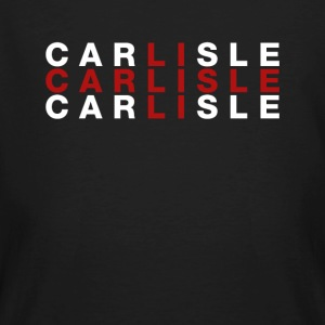 Carlisle United Kingdom Flag Shirt - Carlisle - Ekologisk T-shirt herr