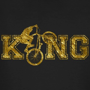 BMX Biker King - Men's Organic T-shirt