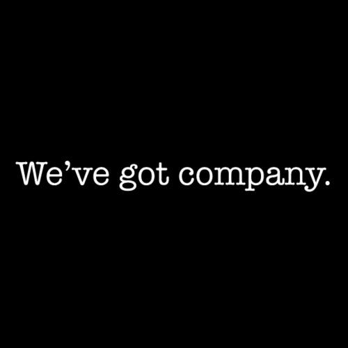 WE'VE GOT COMPANY - Men's Organic T-shirt