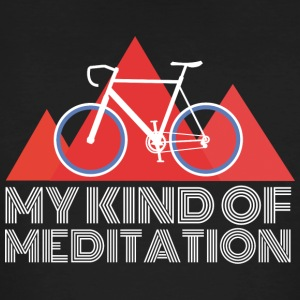 Road Mountain Meditation - Ekologisk T-shirt herr