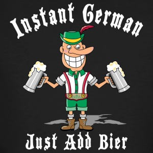 Instant German Just Add Bier Beer - T-shirt bio Homme