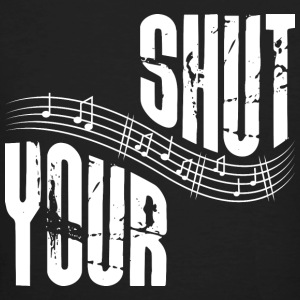Shut your music - Men's Organic T-shirt