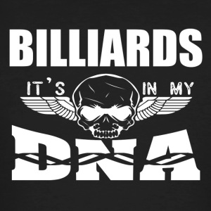 BILLIARDS - It's in my DNA - Men's Organic T-shirt