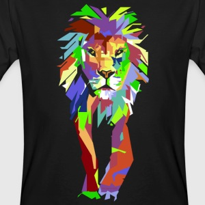 Lion Pop Art - Ekologisk T-shirt herr