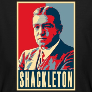 Sir Ernest Shackleton (red, white & blue colours) - Men's Organic T-shirt