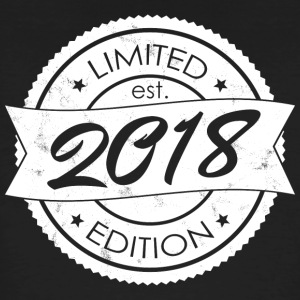Limited Edition est 2018 - Mannen Bio-T-shirt
