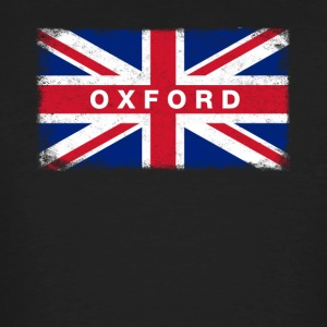 Oxford Shirt Vintage United Kingdom Flag T-Shirt - Men's Organic T-shirt