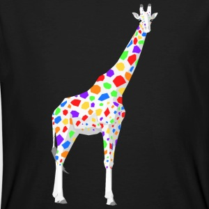 Colorful Giraffe - Men's Organic T-shirt