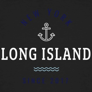 NEW YORK - LONG ISLAND - Männer Bio-T-Shirt