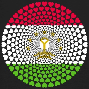Tajikistan Tajikistan Тоҷикистон Love Mandala - Men's Organic T-shirt