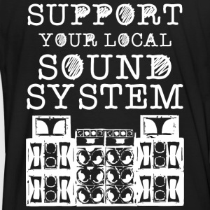SUPPORT YOUR LOCAL SOUNDSYSTEM - Männer Bio-T-Shirt