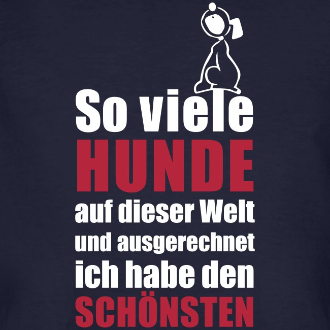 Vorschau: Der schönste HUND - Männer Bio-T-Shirt