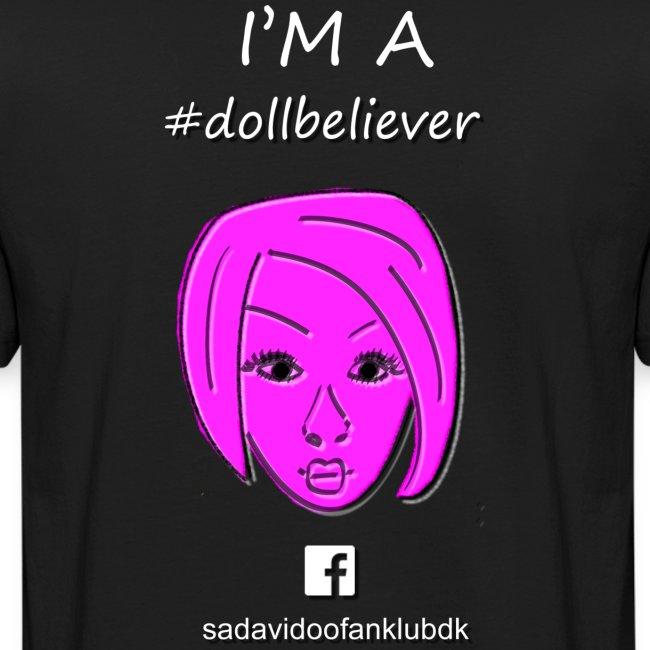 Sada Vidoo Fanklub for til sort mørk t shirt