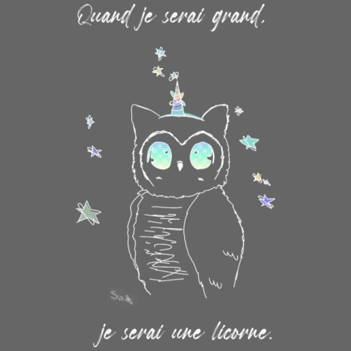 licorneN_garçon - T-shirt bio Homme